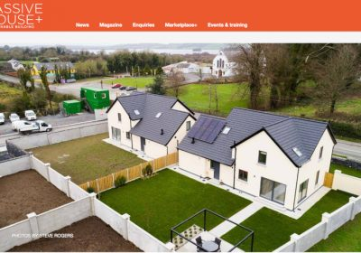Clog Na Leinn features in Passive House Plus Magazine, March 2019